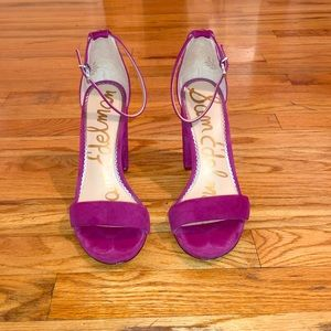 Purple Suede Sam Edelman Yaro Sandal